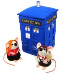 figurine doctor who souris