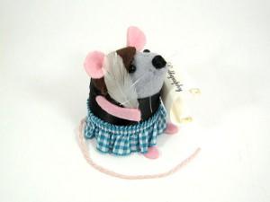 la souris calligraphe